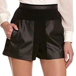 BCBGeneration Faux Leather Shorts